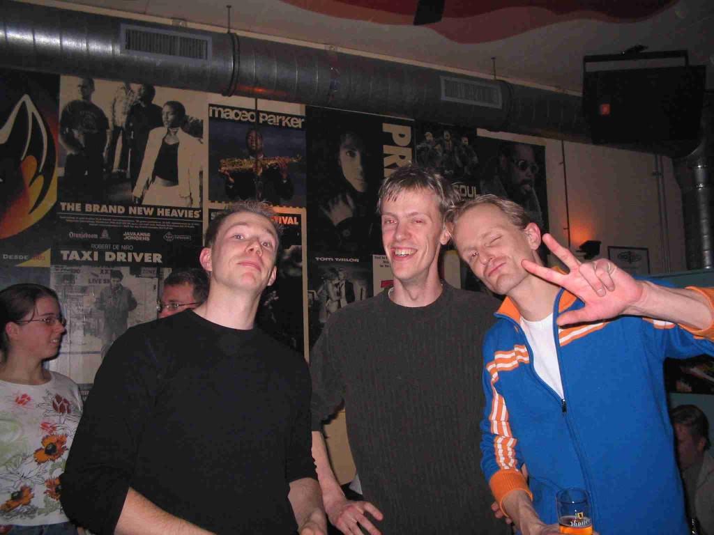 Three blond guys